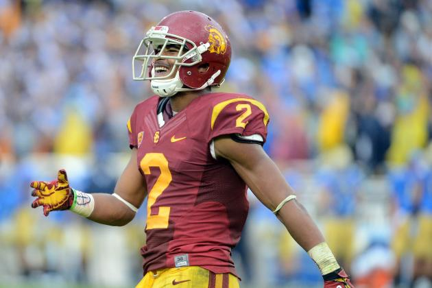 USC WR Robert Woods Officially Enters NFL Draft