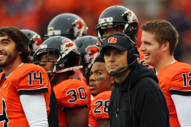Mike Riley to Wisconsin? Oregon State Sources Say Not so Fast