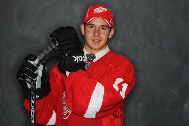 Detroit Red Wings Prospects: Ouellet Makes Canada WJC; Frk Still Red Hot
