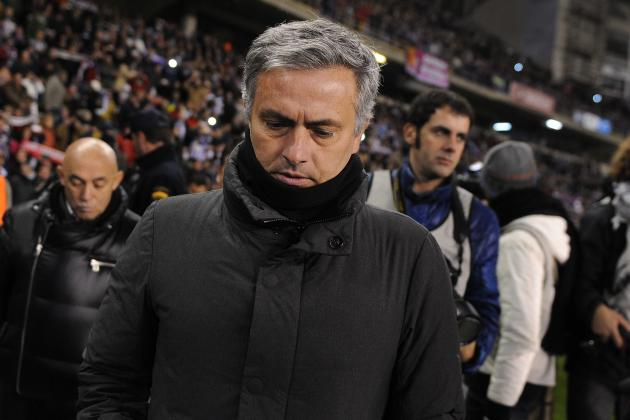 Jose Mourinho Blasts Players After 2-1 Copa Loss to Celta Vigo