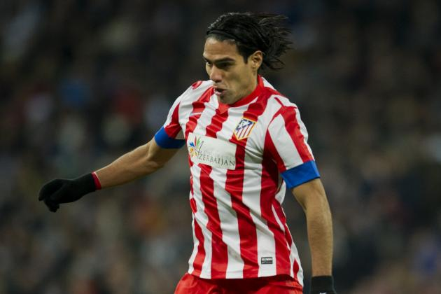 Falcao a Doubt for Barcelona-Atletico Clash