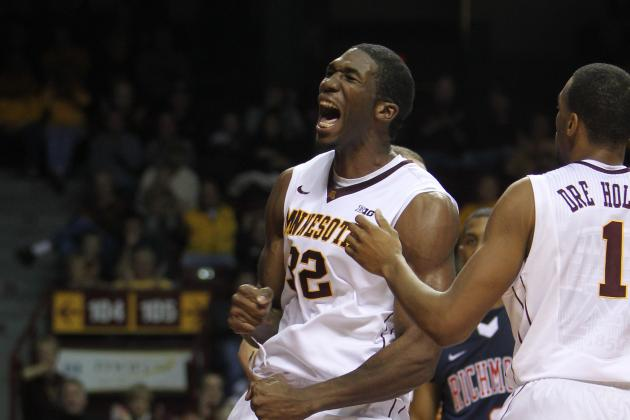 With Mbakwe's Intensity, Gophers Are Playing at Their Best