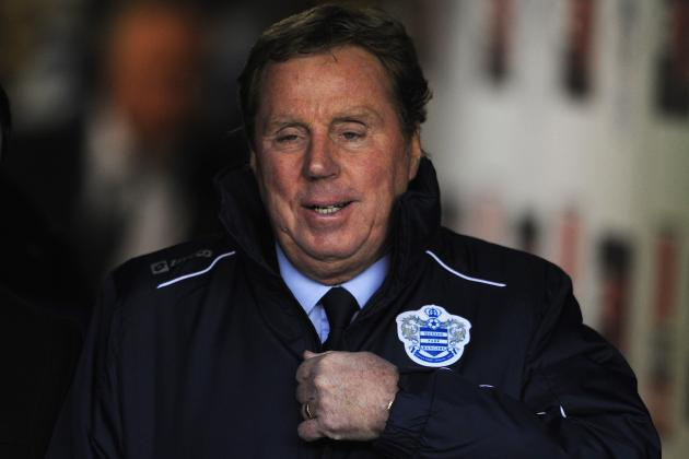 Why Harry Redknapp Will Not Save QPR from Relegation