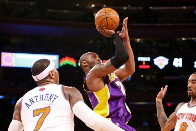 Kobe Defends Carmelo