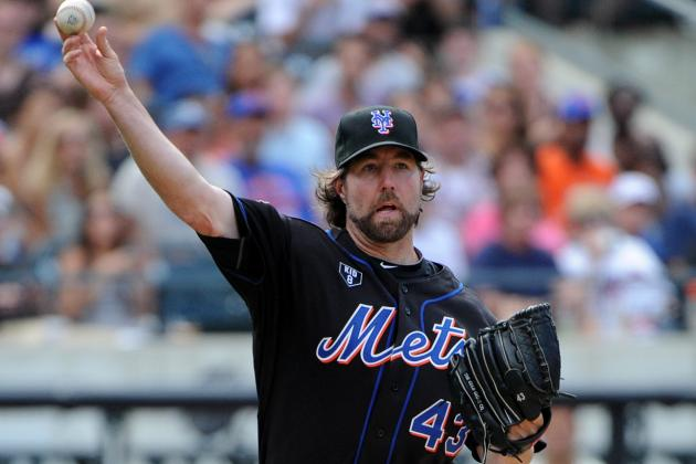 Report: Signs Point to Mets Trading R.A. Dickey