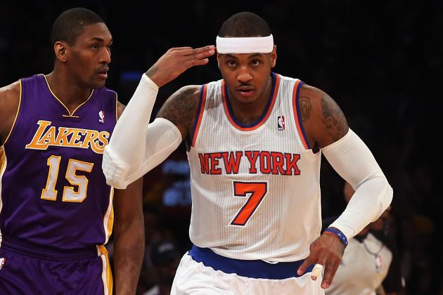 Carmelo Anthony, New York Knicks Expose Ex-Coach Mike D'Antoni and the LA Lakers