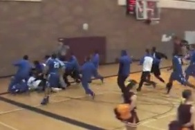 Three-Quarter Court HS Buzzer-Beater