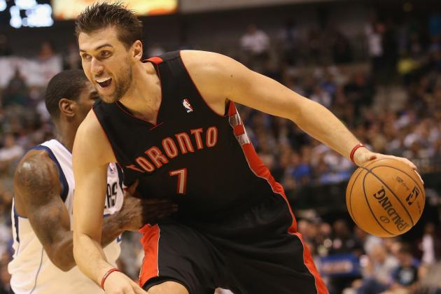 Bargnani Tells Italian Paper He Will Miss at Least Three Weeks