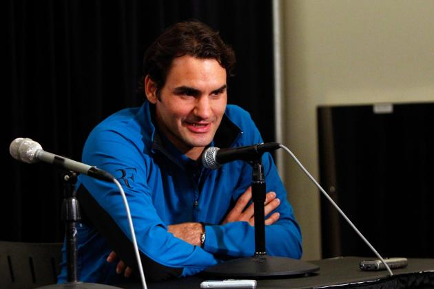 Roger Federer Asked Whether He Is as Good as Messi and Maradona