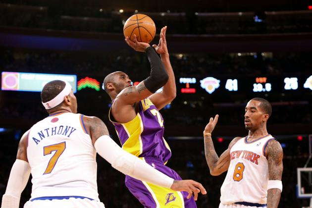 Kobe vs. Melo Battle Disappoints Just a Little...