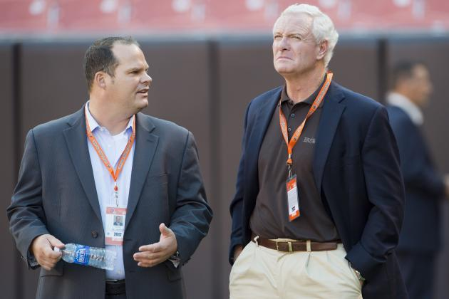 Browns GM Tom Heckert Discusses His Uncertain Future with Franchise