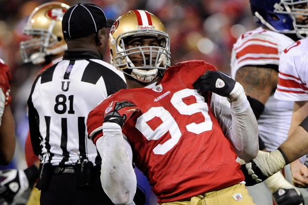 Aldon Smith Worked Over Patriots Tackle in College