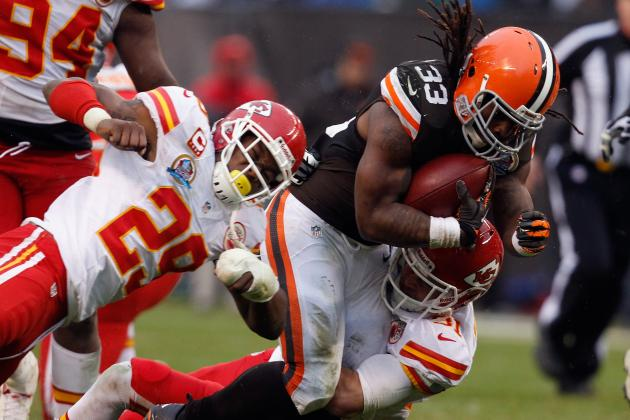 Trent Richardson Not Demoted by Cleveland Browns