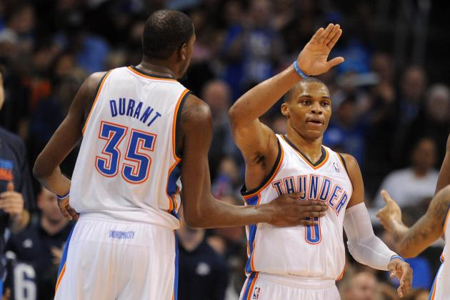 Debate: Who Has Been More Impressive This Season, Durant or Westbrook?