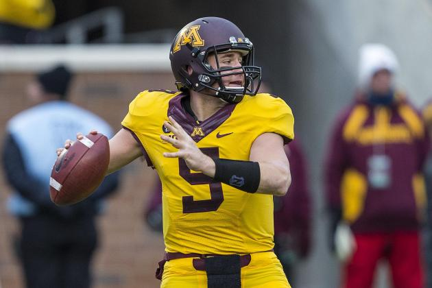 Nelson, Gray Working at QB for Gophers