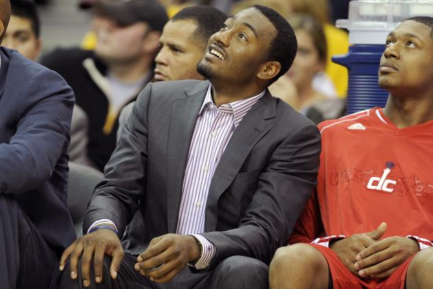 John Wall's Knee 'Improving'