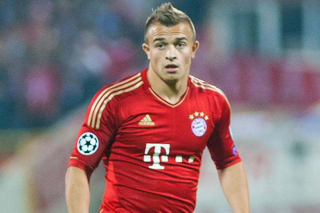 Shaqiri Rescues Point for Bayern