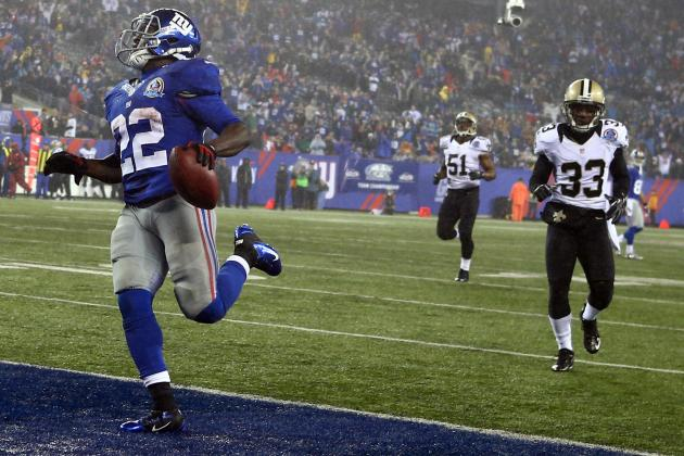 David Wilson: Giants RB Is a Must-Start in Fantasy Football
