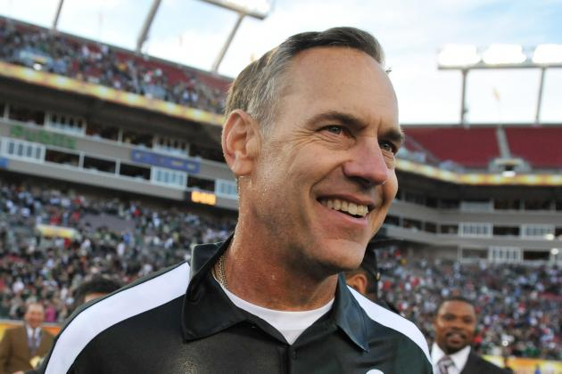 Mark Dantonio Believes Spartans Are Inches from Greatness