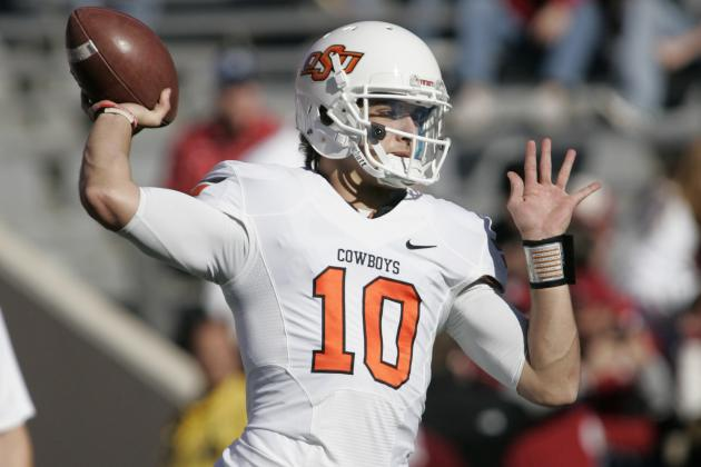 Gundy Names Clint Chelf Starting QB vs. Purdue