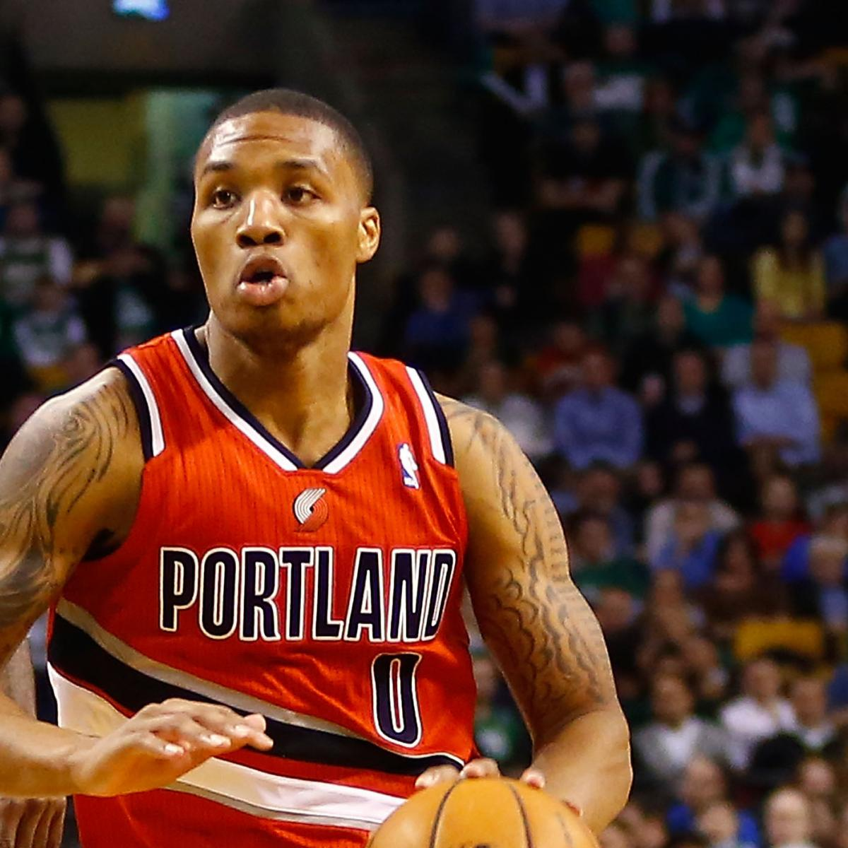 Portland Blazers Roster 2012: Portland Trailblazers, Led By Rookie Damian Lillard, Are