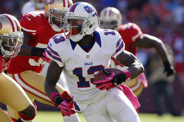 Stevie Johnson Has No Qualms About Moving to the Slot