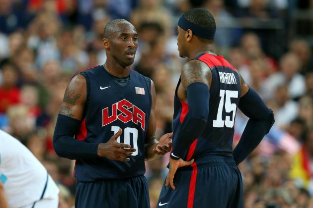 Stats Don't Tell Whole Story of Why Kobe's Still Better Than Carmelo Anthony