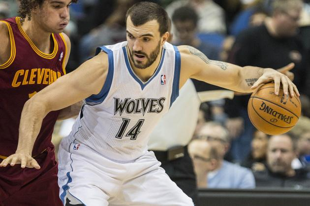 Pekovic Scores Season-High 31 Points and Timberwolves Defeat Hornets