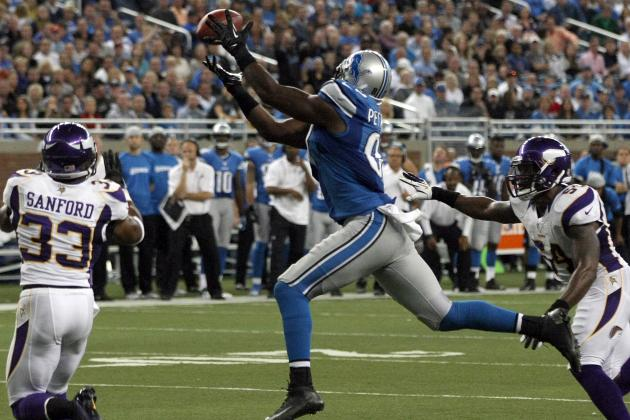 Brandon Pettigrew, Nick Fairley Doubtful for Detroit Lions vs. Arizona Cardinals