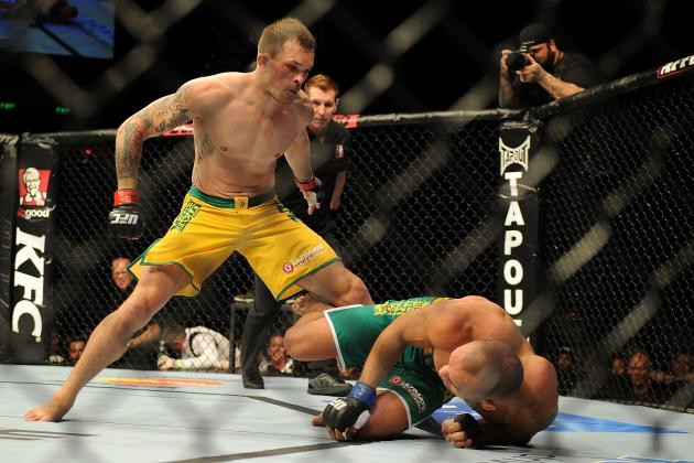 UFC on FX 6: Recapping the Fight Night Bonuses from Sotiropoulos vs. Pearson
