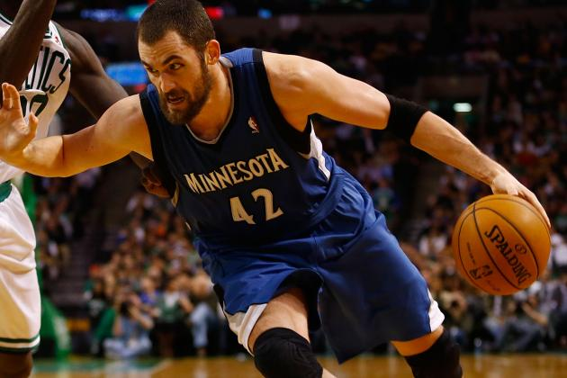 Kevin Love Injury: Updates on Timberwolves Star's Thumb
