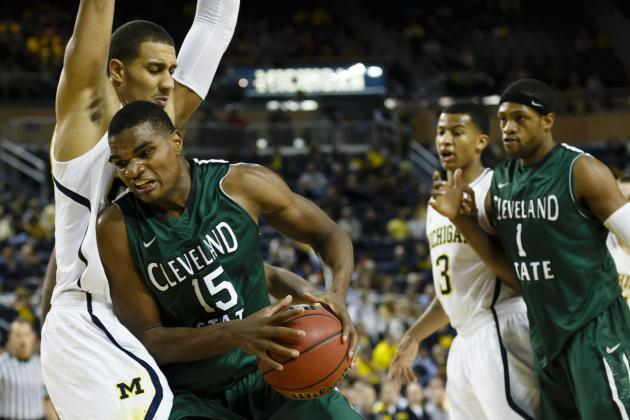 Cleveland State's Anton Grady Has Knee Surgery, Likely Done for the Year