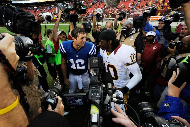 Andrew Luck vs. RGIII: Which QB Will Win a Super Bowl First?