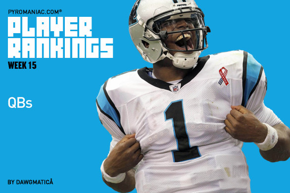 Fantasy Football 2012: Week 15 Rankings for the Top 32 Quarterbacks