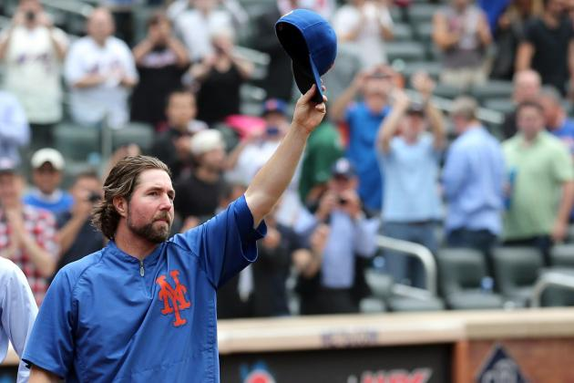 R.A. Dickey Trade Buzz: Why Trading the Cy Young Award Winner Is Best for Mets