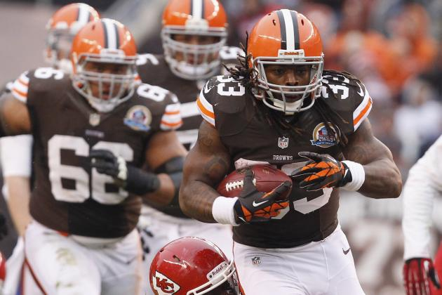 Browns Add Trent Richardson to Injury Report with Illness