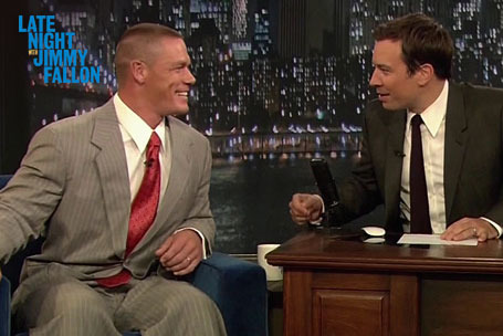 John Cena Gives Promo of the Year on 'Jimmy Fallon' to Promote WWE TLC 2012