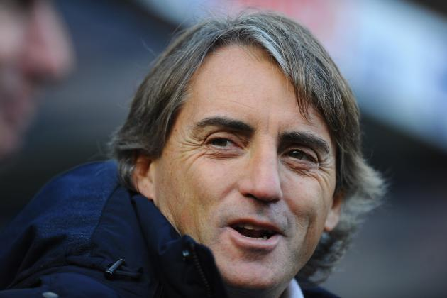 Manchester Citys Display Against Newcastle Pleased Roberto Mancini