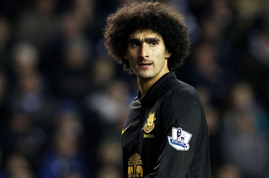 Everton Midfielder Marouane Fellaini Apologises for Ryan Shawcross Clash
