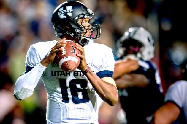 Idaho Potato Bowl 2012: Toledo vs. Utah State Live Scores, Analysis and Results