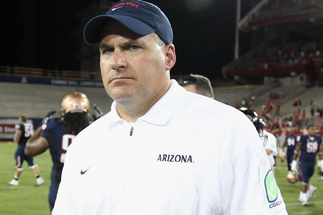 Rich Rodriguez Sends Home Two Players After 'Embarrasing' Sideline Fight