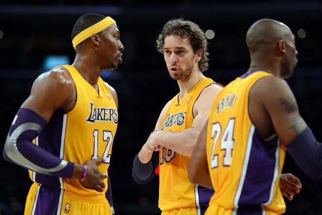 Pau Gasol Should Be Ahead of Howard in Lakers' Offensive Pecking Order