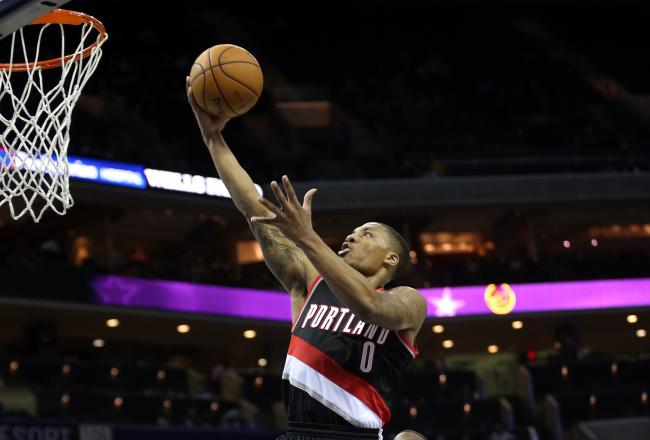 Even as bad as things are in Portland, Lillard is probably glad to be there.