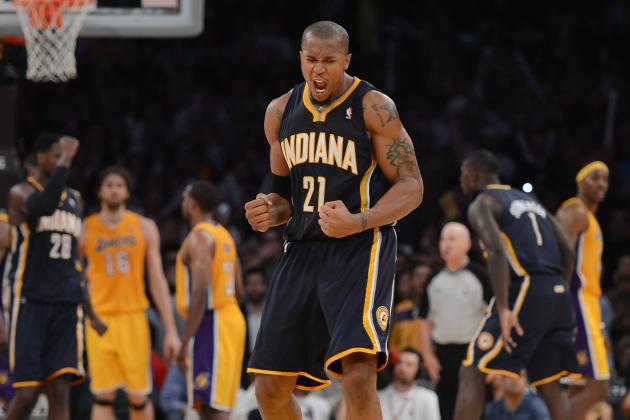 Hibbert Leaves Game Early with Injury, Pacers Upend Pistons 88-77