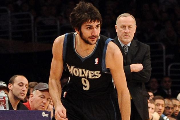 Ricky Rubio Impresses in First Game Back with Timberwolves