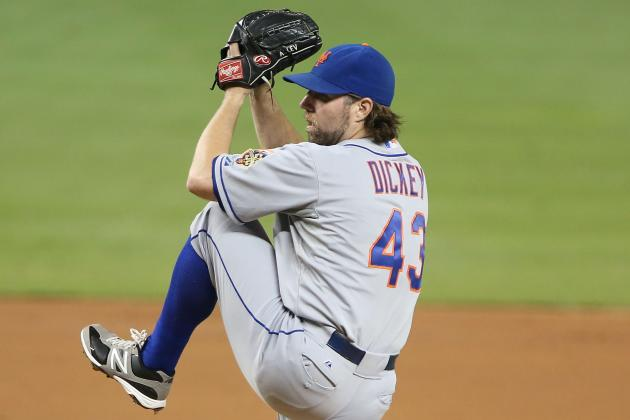 Mets, Blue Jays Now Discussing 7-Player Trade Involving R.A. Dickey