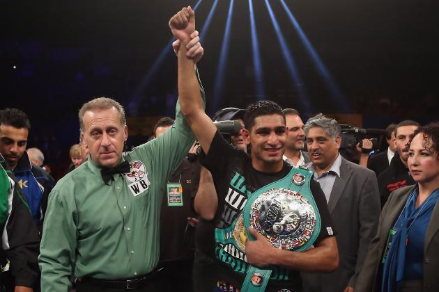Amir Khan Shows Switching Trainers Paid Off in TKO Victory over Carlos Molina