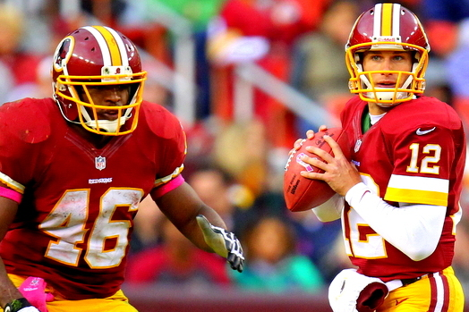 Kirk Cousins' Start Will Hinder Redskins Running Back Alfred Morris
