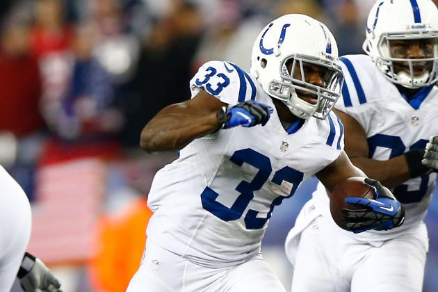 "Bruce Arians Thinks Vick Ballard's a ""poor Man's"" Edgerrin James"