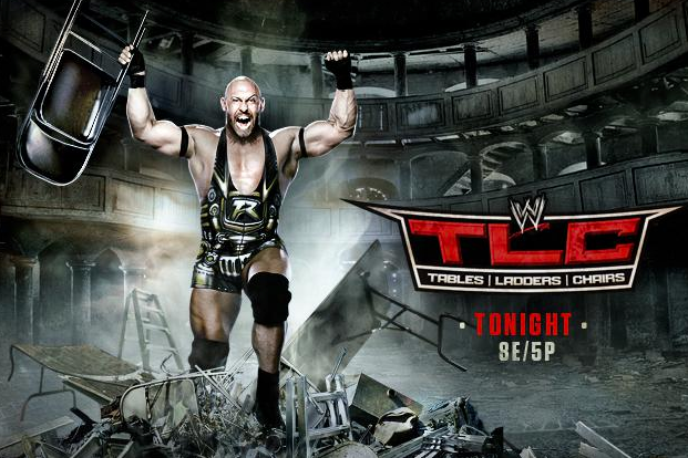 WWE TLC 2012 Live Streaming: How to Watch WWE Tables, Ladders & Chairs PPV Live